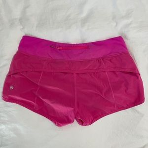 Lululemon Speed Up Shorts - Size 6